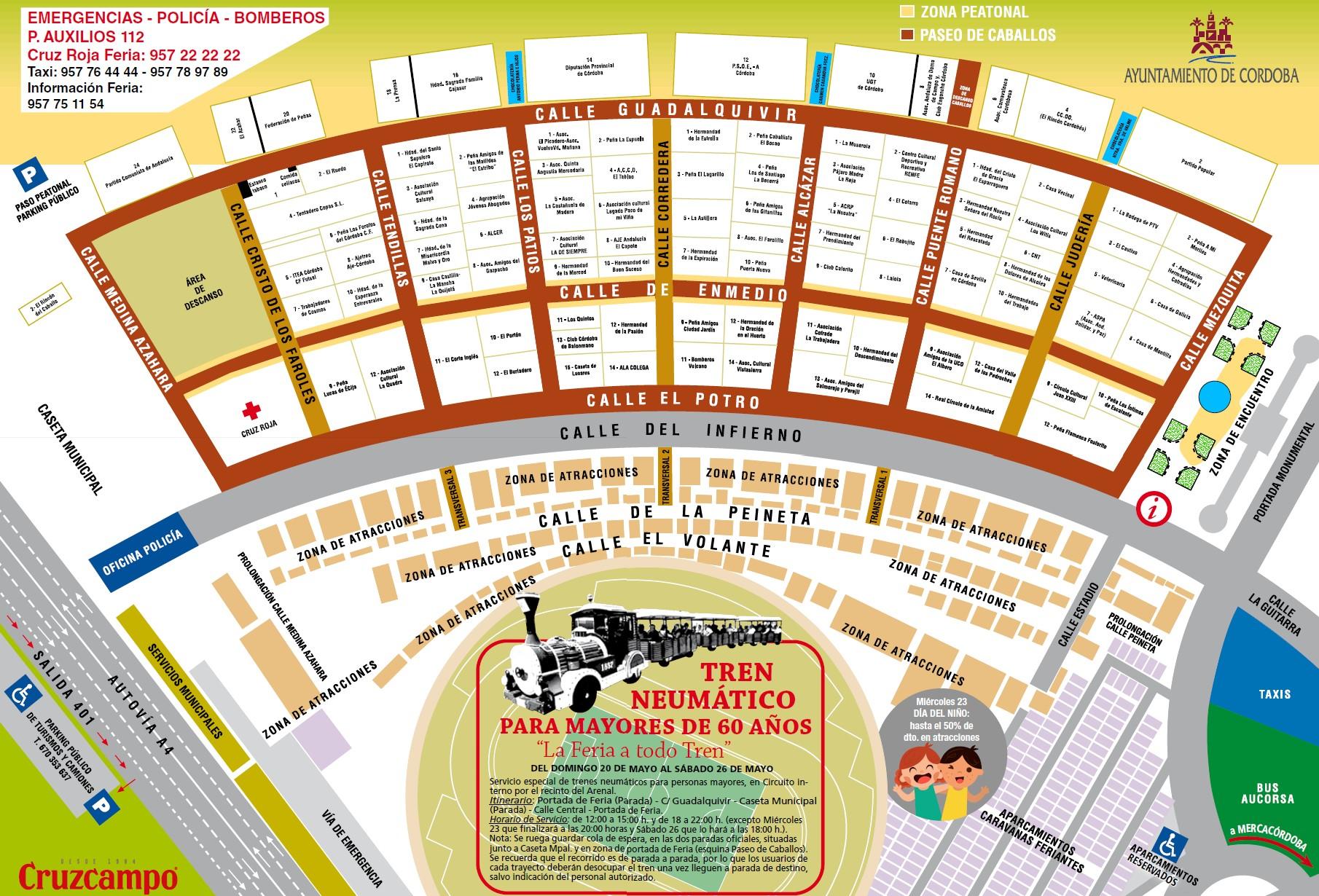 C rdoba 24 la feria de mayo 2018 plano for Feria de artesanias cordoba 2016
